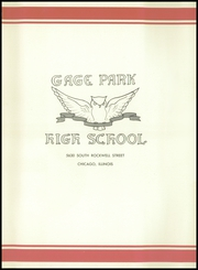 Page 5, 1950 Edition, Gage Park High School - Icarian Yearbook (Chicago, IL) online yearbook collection