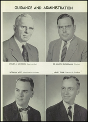 Page 11, 1959 Edition, Fenton High School - Arrow Yearbook (Bensenville, IL) online yearbook collection
