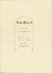 Page 7, 1928 Edition, Belvidere High School - Belvi Yearbook (Belvidere, IL) online yearbook collection