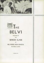 Page 7, 1933 Edition, Belvidere High School - Belvi Yearbook (Belvidere, IL) online yearbook collection