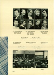 Page 14, 1936 Edition, Belvidere High School - Belvi Yearbook (Belvidere, IL) online yearbook collection