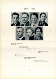 Page 18, 1938 Edition, Belvidere High School - Belvi Yearbook (Belvidere, IL) online yearbook collection