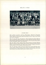 Page 30, 1938 Edition, Belvidere High School - Belvi Yearbook (Belvidere, IL) online yearbook collection