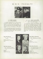 Page 16, 1945 Edition, Belvidere High School - Belvi Yearbook (Belvidere, IL) online yearbook collection