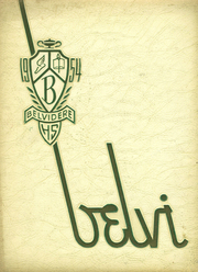Page 1, 1954 Edition, Belvidere High School - Belvi Yearbook (Belvidere, IL) online yearbook collection
