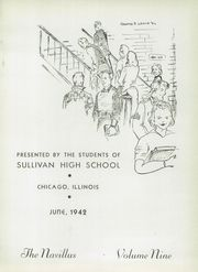 Page 5, 1942 Edition, Sullivan High School - Navillus Yearbook (Chicago, IL) online yearbook collection