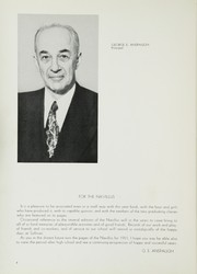 Page 8, 1951 Edition, Sullivan High School - Navillus Yearbook (Chicago, IL) online yearbook collection