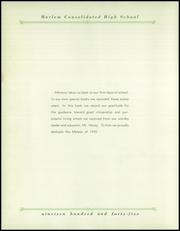 Page 10, 1945 Edition, Harlem High School - Meteor Yearbook (Machesney Park, IL) online yearbook collection