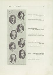 Page 13, 1927 Edition, Mattoon High School - Riddle Yearbook (Mattoon, IL) online yearbook collection