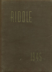 1945 Edition, Mattoon High School - Riddle Yearbook (Mattoon, IL)