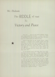 Page 8, 1945 Edition, Mattoon High School - Riddle Yearbook (Mattoon, IL) online yearbook collection