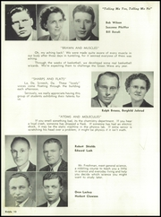 Page 14, 1952 Edition, Mattoon High School - Riddle Yearbook (Mattoon, IL) online yearbook collection