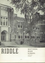 Page 7, 1954 Edition, Mattoon High School - Riddle Yearbook (Mattoon, IL) online yearbook collection