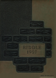 1957 Edition, Mattoon High School - Riddle Yearbook (Mattoon, IL)