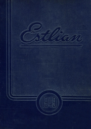 East St Louis High School - Estlian Yearbook (East St Louis, IL) online yearbook collection, 1949 Edition, Page 1