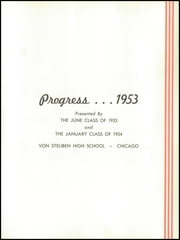 Page 5, 1954 Edition, Von Steuben High School - Progress Yearbook (Chicago, IL) online yearbook collection