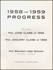 Page 5, 1959 Edition, Von Steuben High School - Progress Yearbook (Chicago, IL) online yearbook collection