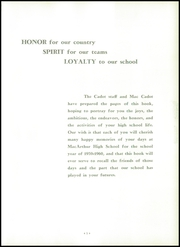 Page 9, 1960 Edition, MacArthur High School - Cadet Yearbook (Decatur, IL) online yearbook collection