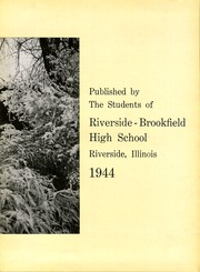 Page 9, 1944 Edition, Riverside Brookfield High School - Rouser Yearbook (Riverside, IL) online yearbook collection