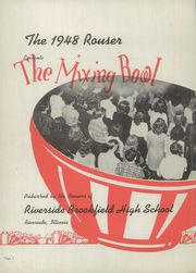 Page 6, 1948 Edition, Riverside Brookfield High School - Rouser Yearbook (Riverside, IL) online yearbook collection