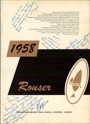 Page 5, 1958 Edition, Riverside Brookfield High School - Rouser Yearbook (Riverside, IL) online yearbook collection
