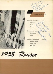 Page 7, 1958 Edition, Riverside Brookfield High School - Rouser Yearbook (Riverside, IL) online yearbook collection