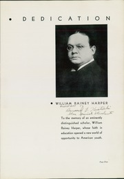 Page 7, 1935 Edition, Harper High School - Shield Yearbook (Chicago, IL) online yearbook collection
