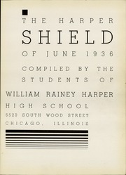 Page 7, 1936 Edition, Harper High School - Shield Yearbook (Chicago, IL) online yearbook collection