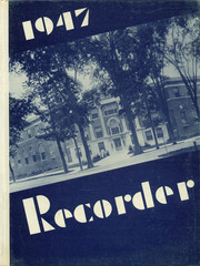 1947 Edition, Saratoga Springs High School - Recorder Yearbook (Saratoga Springs, NY)
