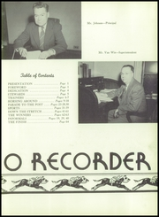 Page 7, 1950 Edition, Saratoga Springs High School - Recorder Yearbook (Saratoga Springs, NY) online yearbook collection