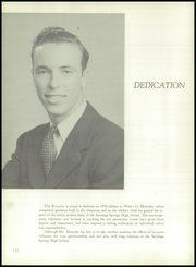 Page 8, 1950 Edition, Saratoga Springs High School - Recorder Yearbook (Saratoga Springs, NY) online yearbook collection
