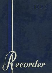 1952 Edition, Saratoga Springs High School - Recorder Yearbook (Saratoga Springs, NY)