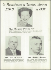 Page 7, 1952 Edition, Saratoga Springs High School - Recorder Yearbook (Saratoga Springs, NY) online yearbook collection