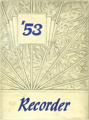 1953 Edition, Saratoga Springs High School - Recorder Yearbook (Saratoga Springs, NY)