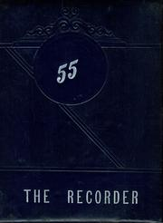 1955 Edition, Saratoga Springs High School - Recorder Yearbook (Saratoga Springs, NY)