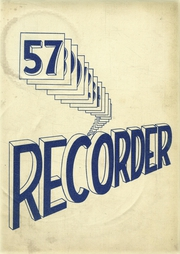 1957 Edition, Saratoga Springs High School - Recorder Yearbook (Saratoga Springs, NY)