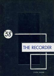 1958 Edition, Saratoga Springs High School - Recorder Yearbook (Saratoga Springs, NY)