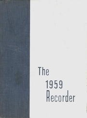 1959 Edition, Saratoga Springs High School - Recorder Yearbook (Saratoga Springs, NY)