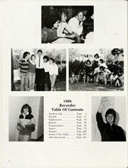 Page 6, 1986 Edition, Saratoga Springs High School - Recorder Yearbook (Saratoga Springs, NY) online yearbook collection