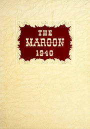 1940 Edition, Hirsch High School - Maroon Yearbook (Chicago, IL)