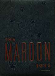 1945 Edition, Hirsch High School - Maroon Yearbook (Chicago, IL)