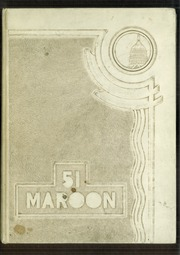 1951 Edition, Hirsch High School - Maroon Yearbook (Chicago, IL)