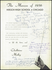 Page 7, 1956 Edition, Hirsch High School - Maroon Yearbook (Chicago, IL) online yearbook collection