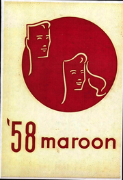 1958 Edition, Hirsch High School - Maroon Yearbook (Chicago, IL)