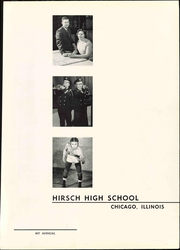 Page 7, 1958 Edition, Hirsch High School - Maroon Yearbook (Chicago, IL) online yearbook collection