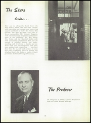 Page 11, 1954 Edition, DuSable High School - Red and Black Yearbook (Chicago, IL) online yearbook collection