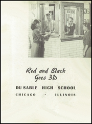 Page 3, 1954 Edition, DuSable High School - Red and Black Yearbook (Chicago, IL) online yearbook collection