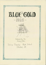 Page 7, 1925 Edition, Sterling High School - Blue and Gold Yearbook (Sterling, IL) online yearbook collection