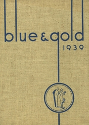 Sterling High School - Blue and Gold Yearbook (Sterling, IL) online yearbook collection, 1939 Edition, Page 1
