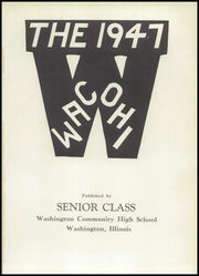 Page 5, 1947 Edition, Washington Community High School - Wacohi Yearbook (Washington, IL) online yearbook collection